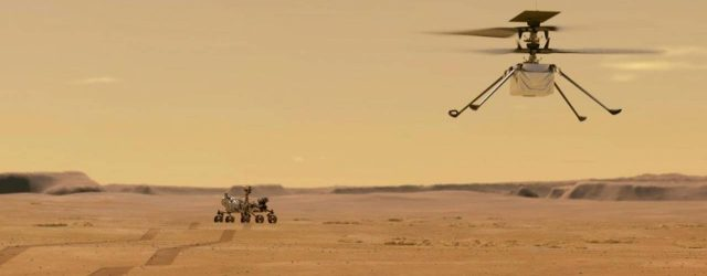 First Time for another planet, helicopter takes off which is created by Nasa for Mars